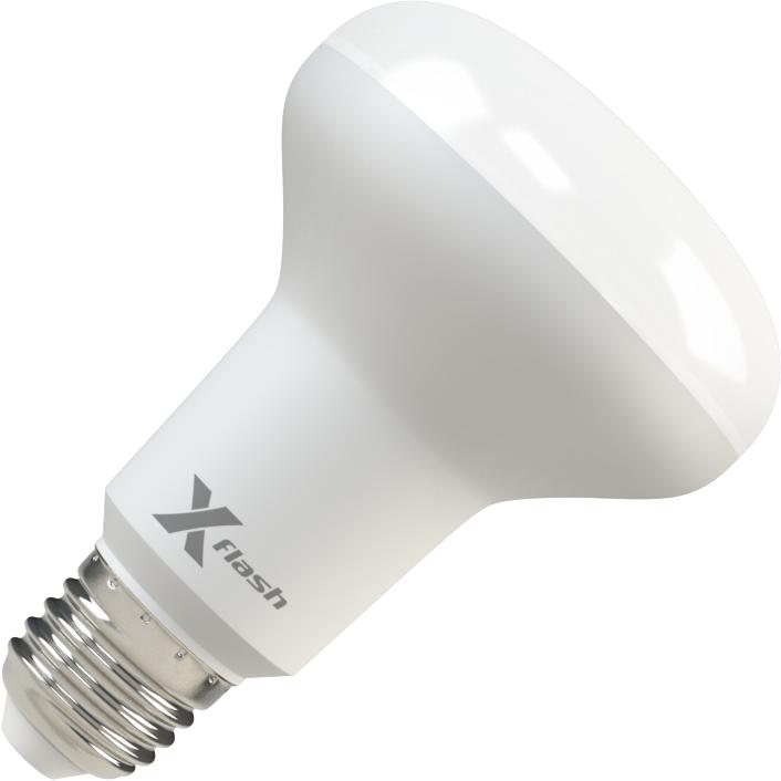 Лампа светодиодная X-flash Xf-e27-r80-p-10w-3000k-220v 10шт лампа светодиодная x flash xf e27 r90 p 12w 3000k 220v 10шт