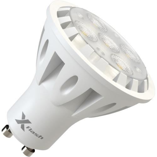 Лампа светодиодная X-flash Xf-spl-l-gu10-6w-3000k-220v лампочка x flash spotlight mr16 xf spl l gu5 3 6w 3000k 12v желтый свет линза 43507