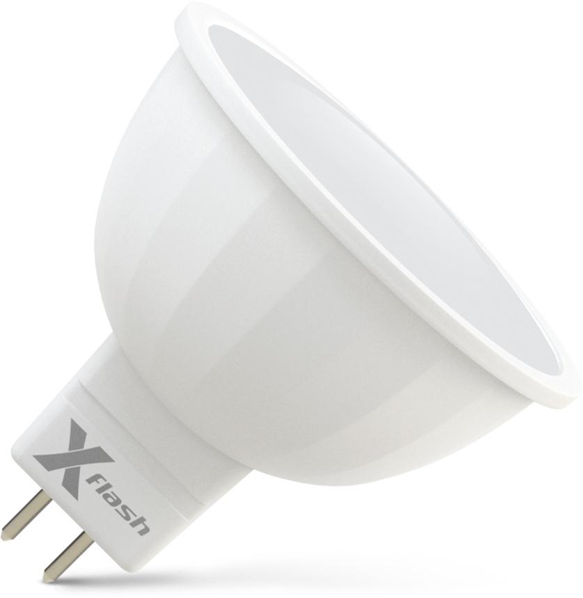 Лампа светодиодная X-flash Xf-mr16-gu5.3-6w-4000k-230v лампочка x flash spotlight mr16 xf spl l gu5 3 6w 3000k 12v желтый свет линза 43507