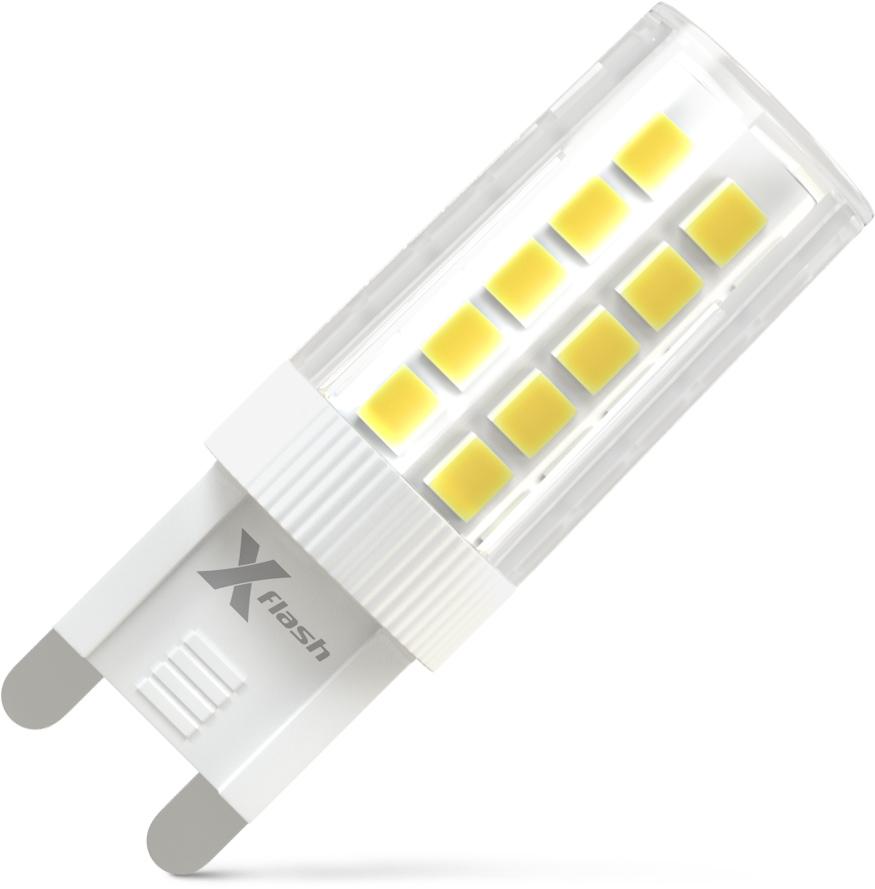Лампа светодиодная X-flash Xf-g9-44-c-3w-4000k-230v лампа x flash xf g9 44 c 3w 4000k 230v капсула g9 4000к 310лм x6
