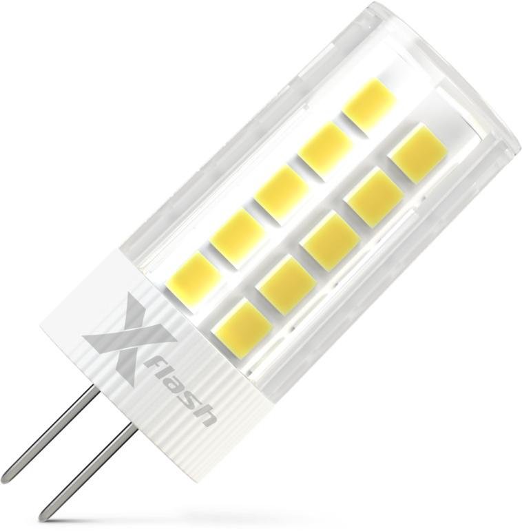 Лампа светодиодная X-flash Xf-g4-35-c-3w-4000k-12v цоколь лампы led g4 10pcs lot g4 g4 lampcrystal 163
