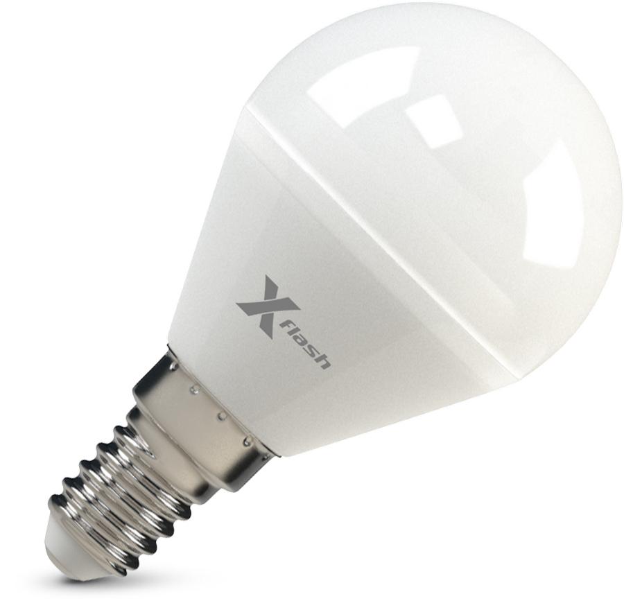 Лампа светодиодная X-flash Xf-e14-p45-p-5w-4000k-12v 10шт