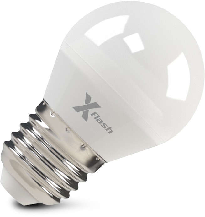 Лампа светодиодная X-flash Xf-e27-g45-p-5w-3000k-12v 10шт