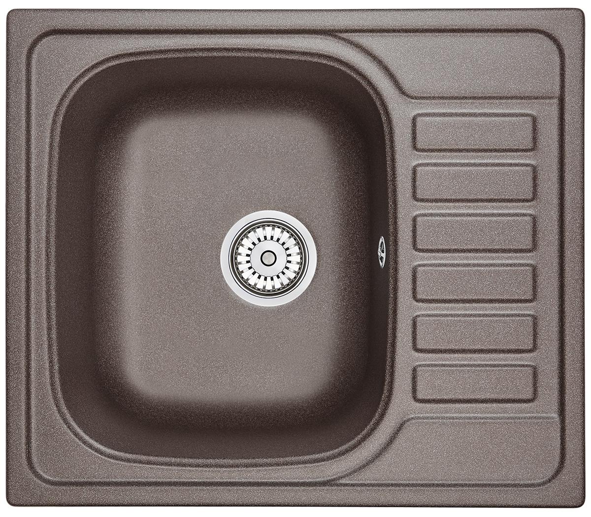 Мойка кухонная Granula Gr-5801 кухонная мойка granula 4201 классик