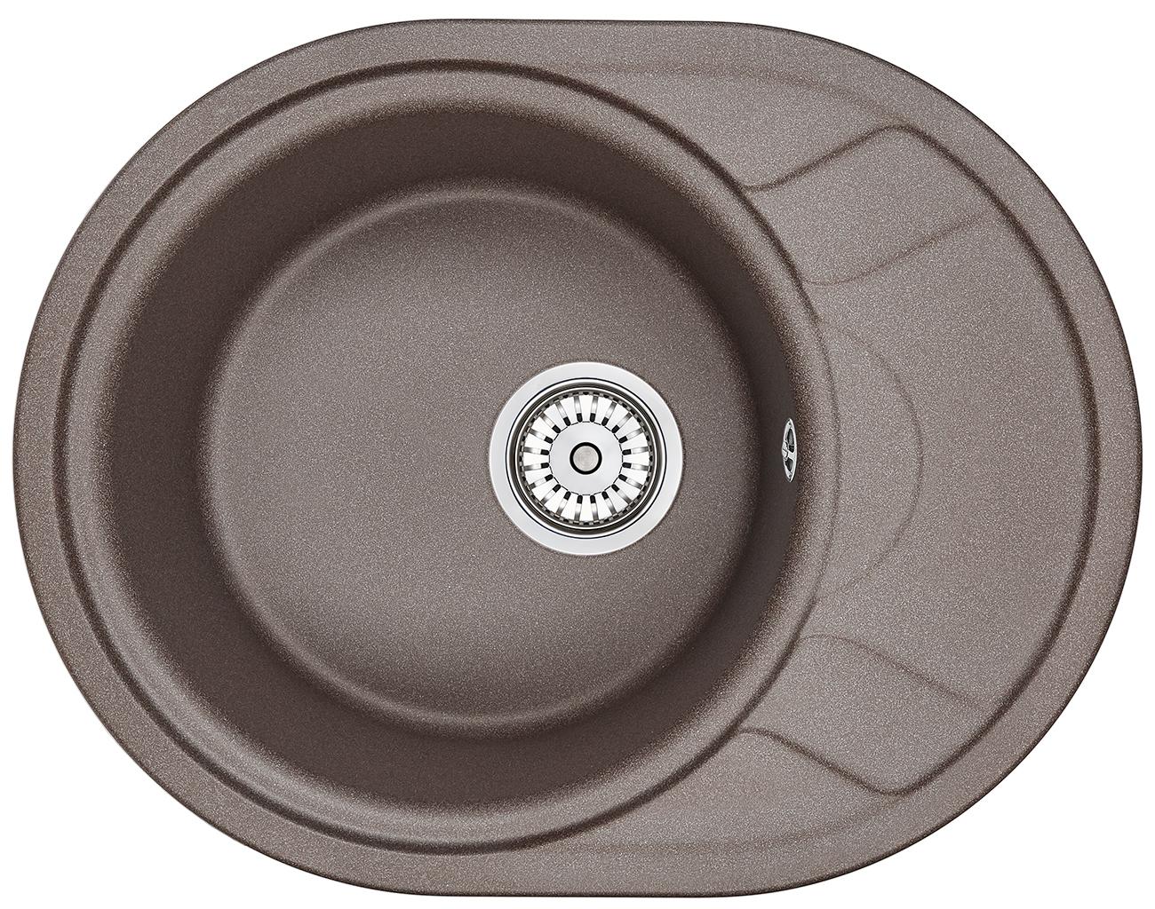 Мойка кухонная Granula Gr-5802 кухонная мойка granula 4201 классик
