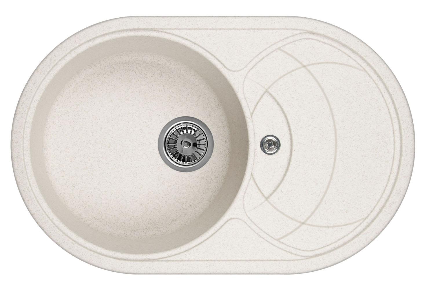 Мойка кухонная Granula Gr-7801 кухонная мойка granula 4201 классик