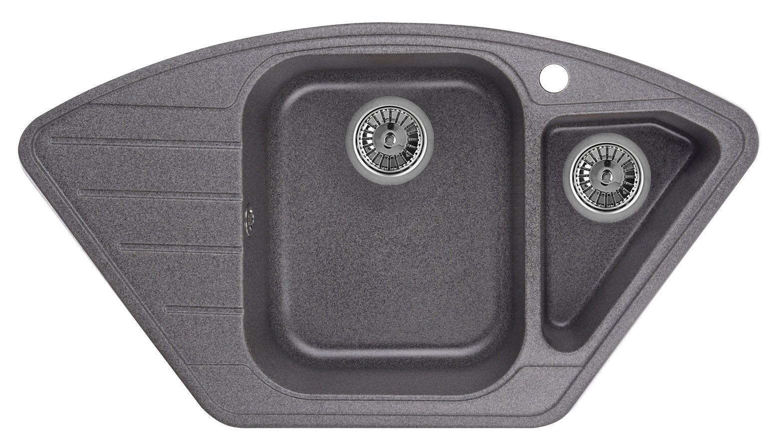 Мойка кухонная Granula Gr-9101 смеситель для мойки granula 1124 шварц