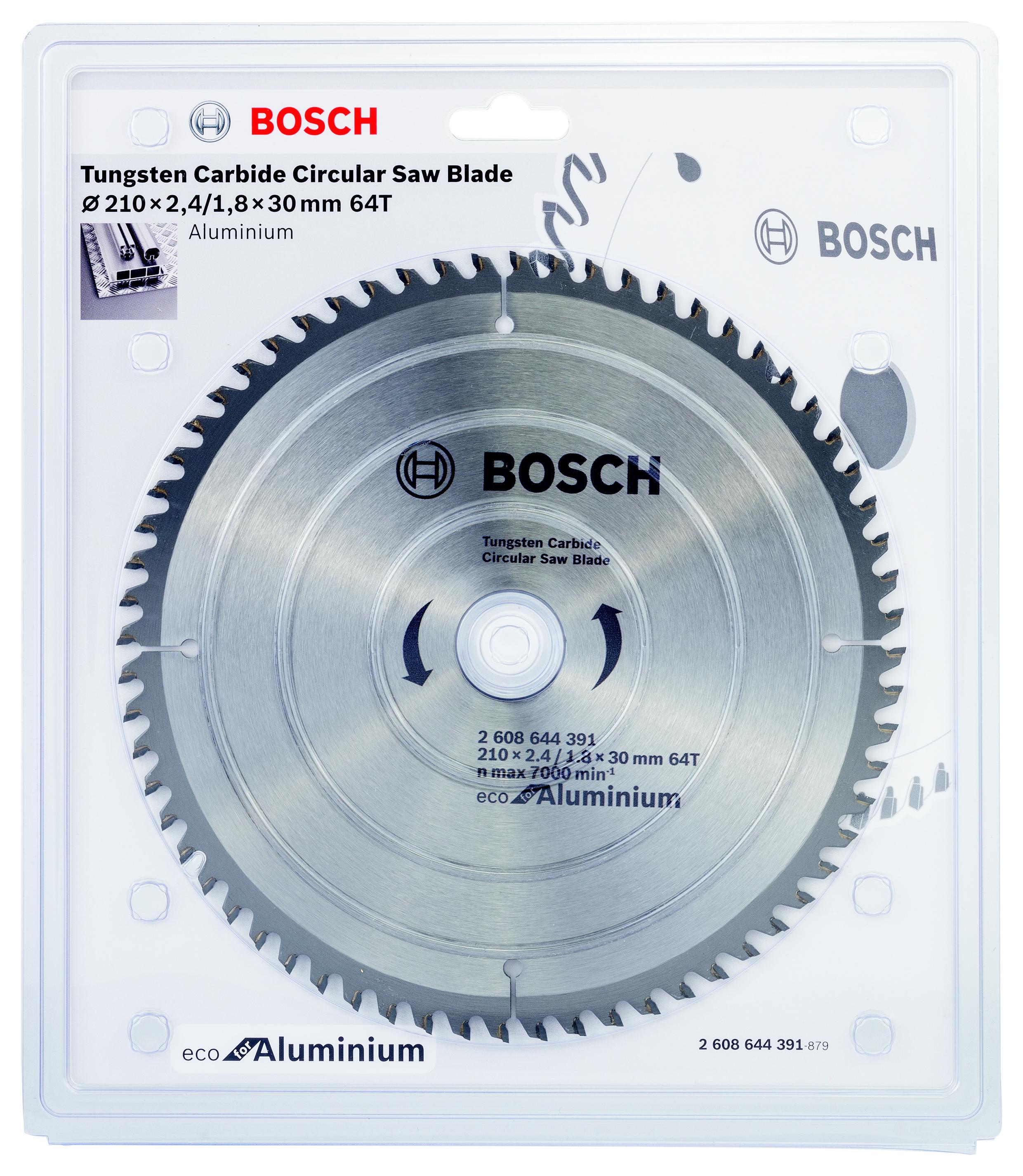 Диск пильный твердосплавный Bosch Eco al 210x30-64t (2.608.644.391) bosch eco 11c 101b