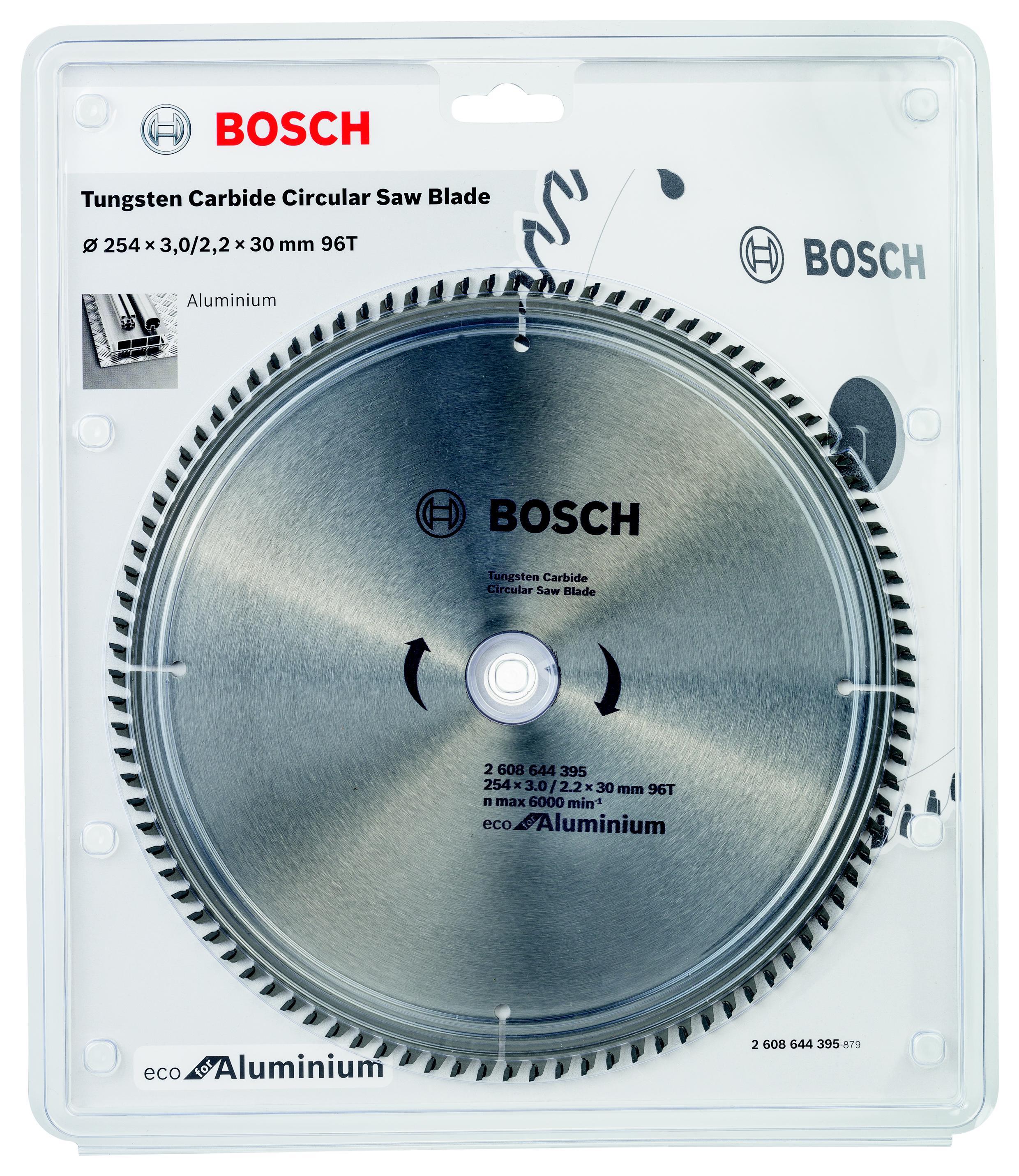 Диск пильный твердосплавный Bosch Eco al 254x30-96t (2.608.644.395) bosch eco 11c 101b