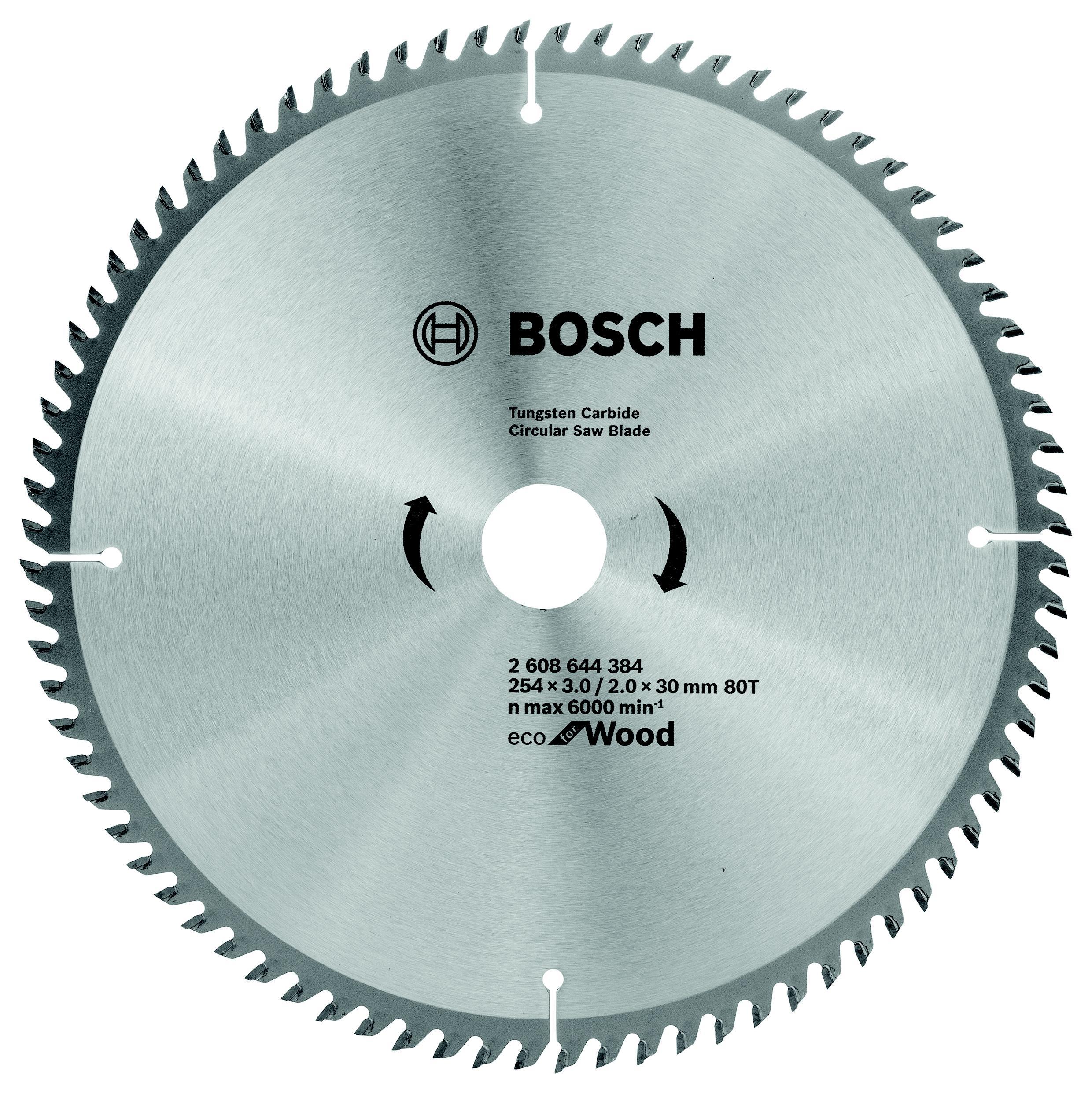 Диск пильный твердосплавный Bosch Eco wo 254x30-80t (2.608.644.384)