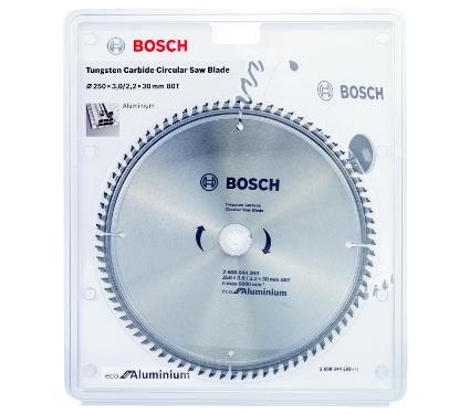 Диск пильный твердосплавный BOSCH Ф250х30мм 80зуб. (ECO AL 2608644393)
