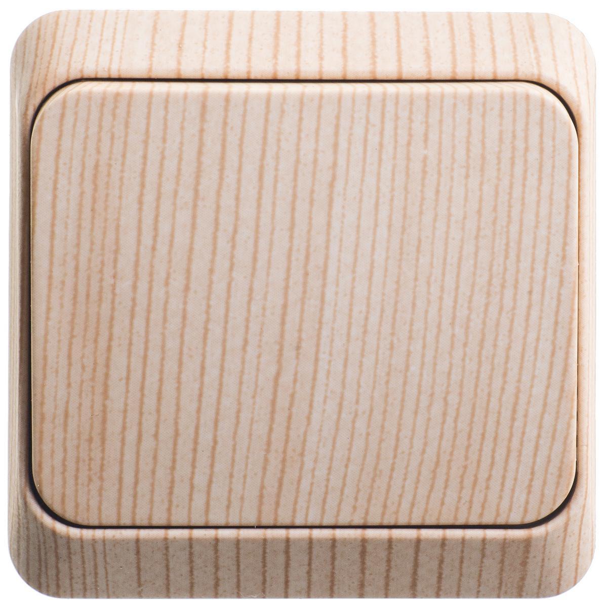 Выключатель Schneider electric Ba10-001d Этюд выключатель 2 клавишный сосна этюд