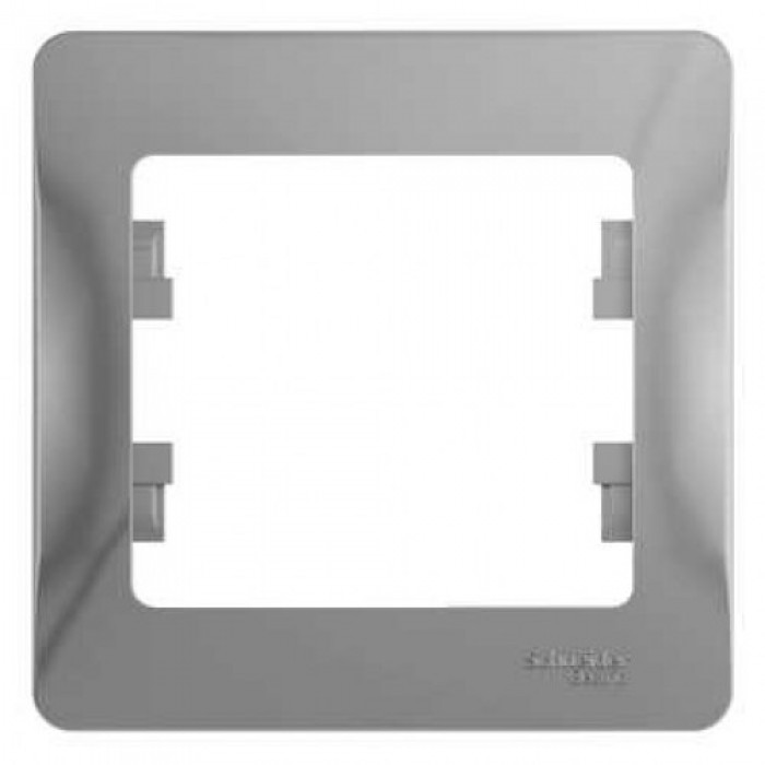 Рамка Schneider electric Gsl000301 glossa рамка одноместная schneider electric glossa бежевая