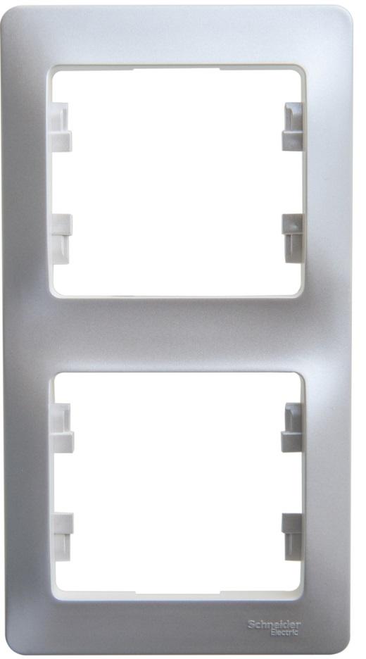 Рамка Schneider electric Gsl000306 glossa рамка одноместная schneider electric glossa бежевая