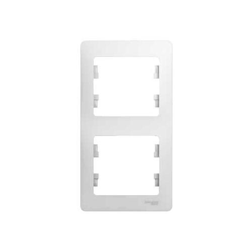 Рамка Schneider electric Gsl000106 glossa рамка одноместная schneider electric glossa бежевая