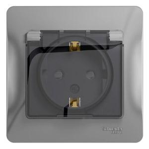 Розетка Schneider electric Gsl000348 glossa
