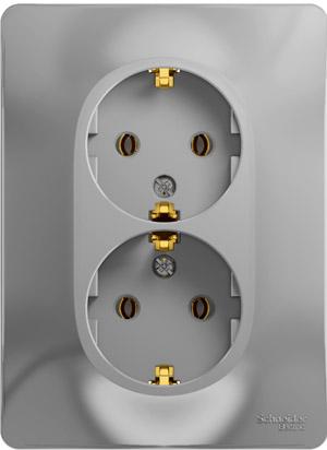 Розетка Schneider electric Gsl000324 glossa