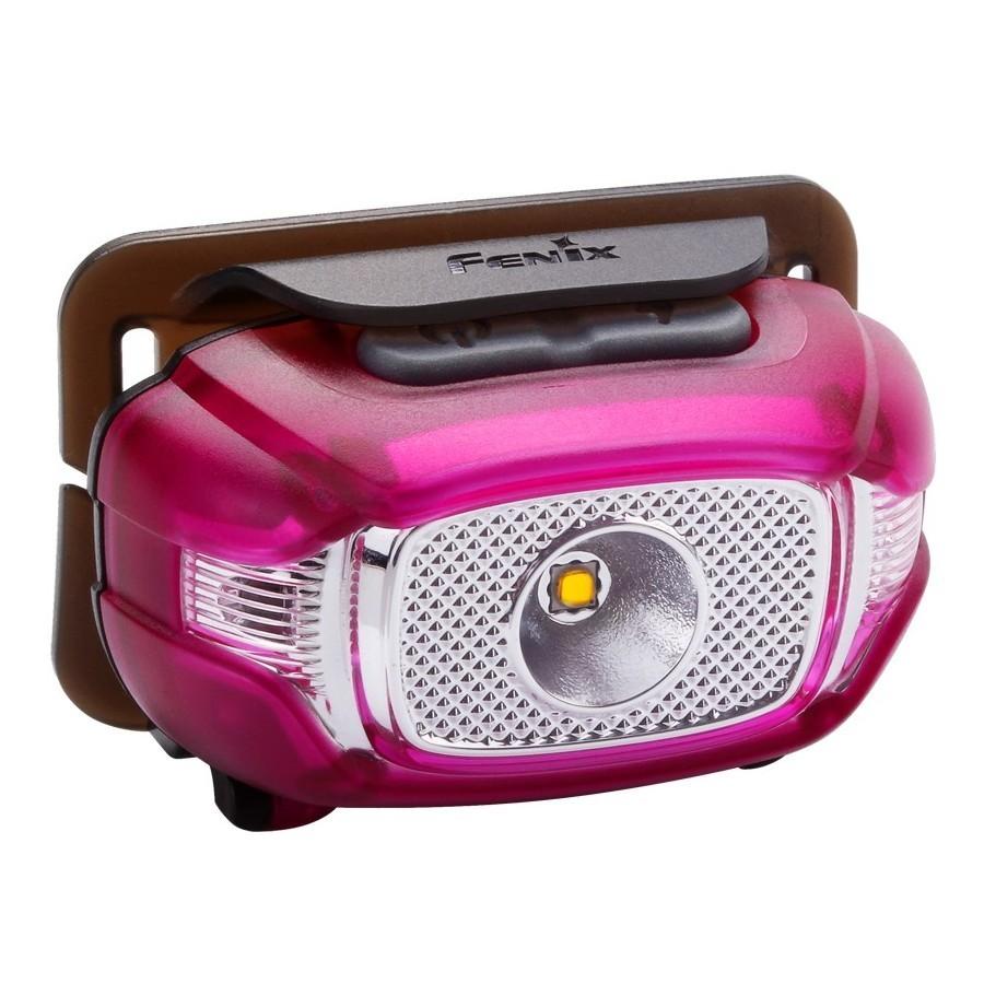 Фонарь Fenix Hl15 пурпурный фара fenix bc21r