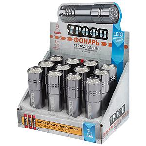 Фонарь ТРОФИ Tm9-box12