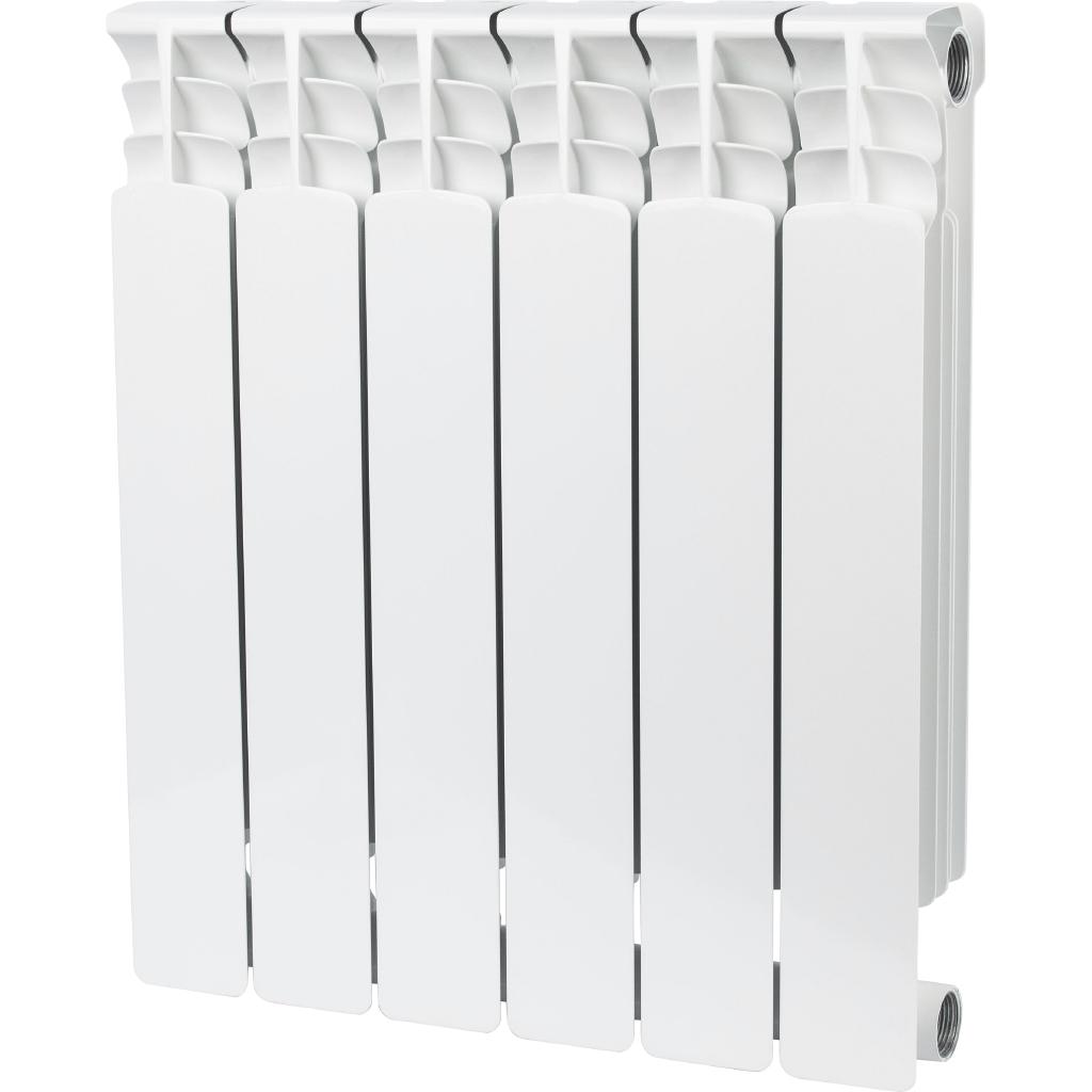 Радиатор Stout Space 6 srb-0310-050006 радиатор отопления stout space 500 биметаллический 10 секций srb 0310 050010