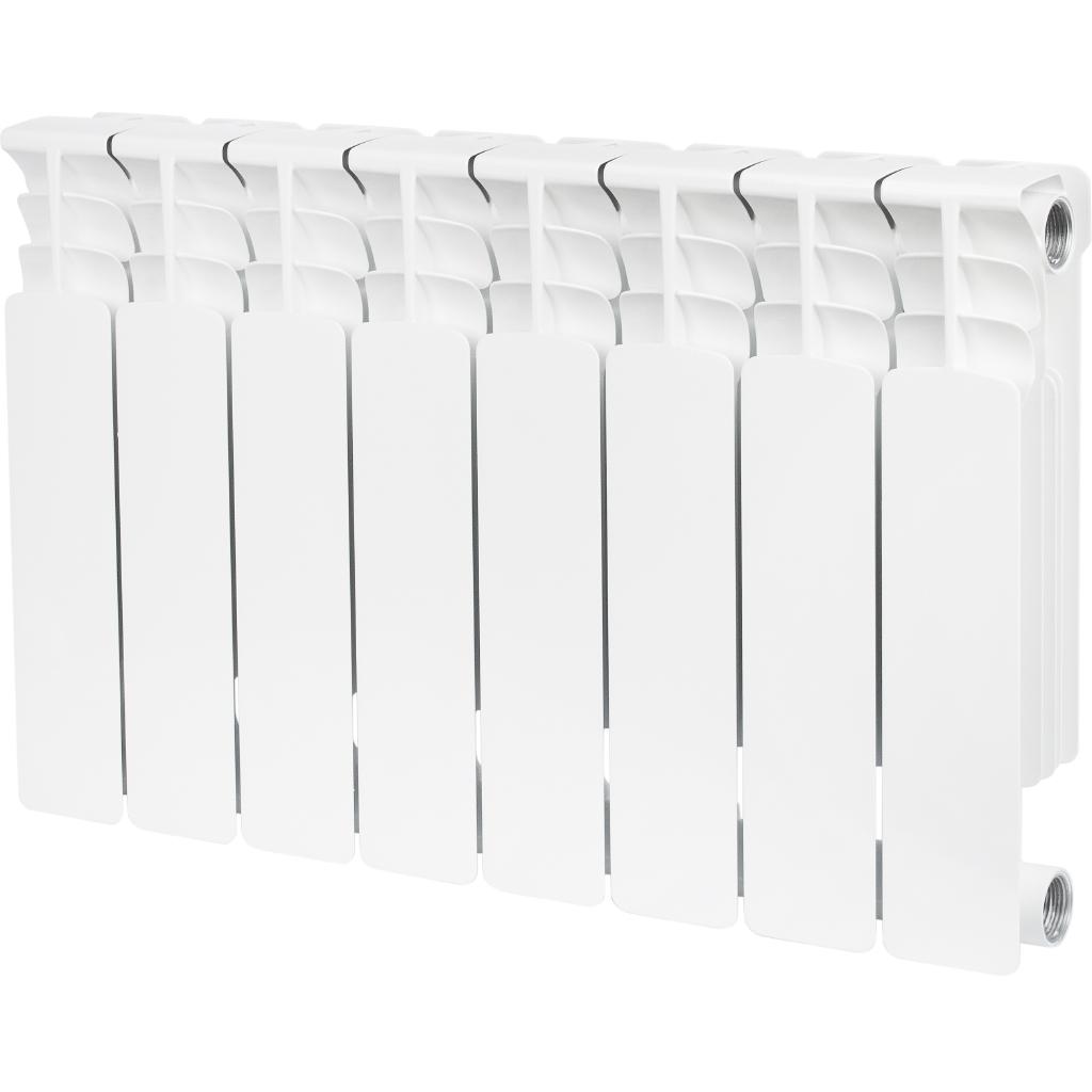 Радиатор Stout Space 8 srb-0310-035008 радиатор отопления stout space 500 биметаллический 10 секций srb 0310 050010