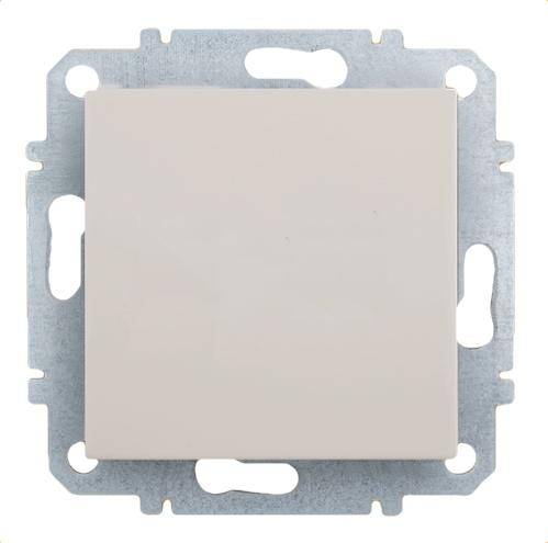 Выключатель Zakru Za215412 Бежевый выключатель двухклавишный наружный бежевый 10а quteo
