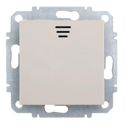Выключатель Zakru Za215413 Бежевый выключатель двухклавишный наружный бежевый 10а quteo