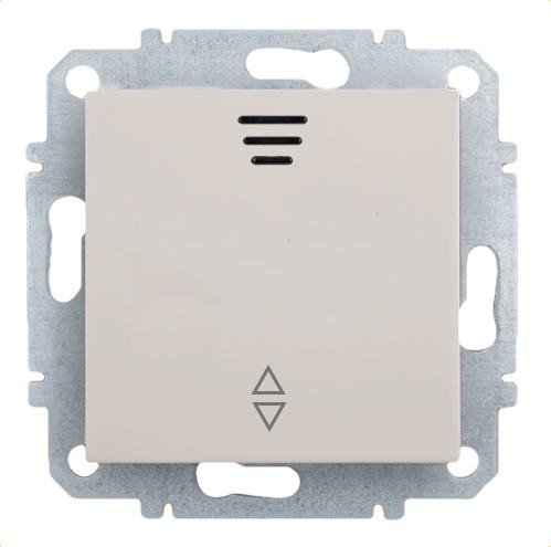 Выключатель Zakru Za215415 Бежевый выключатель двухклавишный наружный бежевый 10а quteo