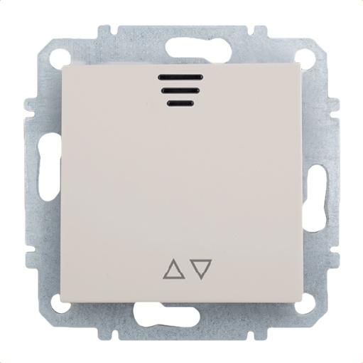 Выключатель Zakru Za215421 Бежевый выключатель двухклавишный наружный бежевый 10а quteo