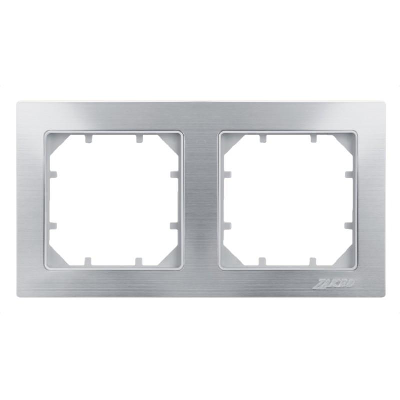 Рамка Zakru Za215402 Серебро рамка для фотографий в подарочной упаковке elff ceramics цвет серебряный металлический