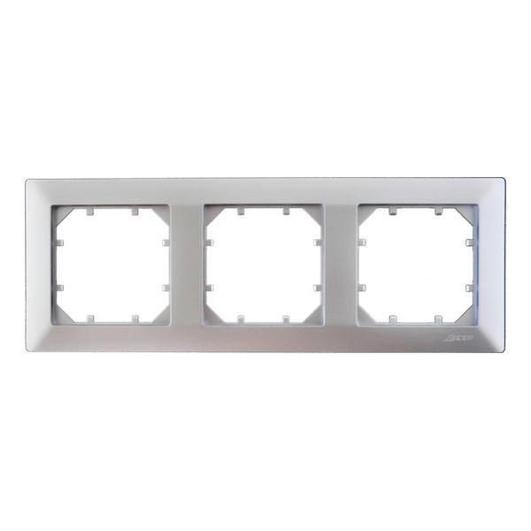Рамка Zakru Za215403 Серебро рамка для фотографий в подарочной упаковке elff ceramics цвет серебряный металлический