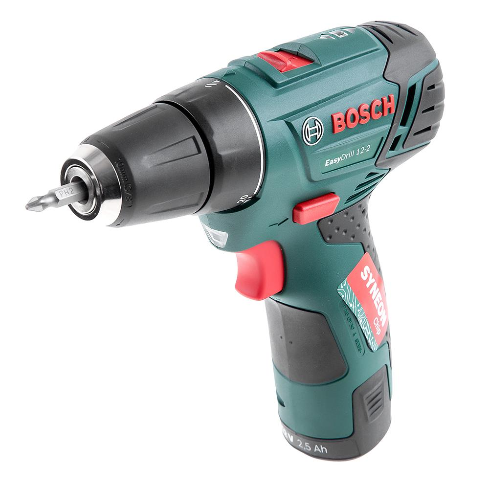 Дрель-шуруповерт Bosch Easydrill 12-2 (0.603.972.90v) ноутбук lenovo thinkpad 13 20j1003trt intel core i5 7200u 2500 mhz 13 3 1920х1080 8192mb 256gb hdd dvd нет intel® hd graphics 620 wifi windows 10 professional x64