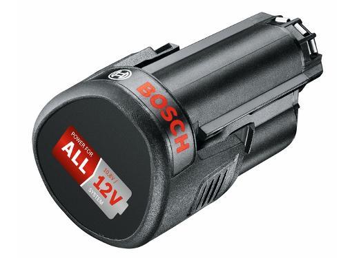 Аккумулятор BOSCH 12В 2,5Ач Li-Ion PBA 12 (1600A00H3D)