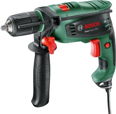 Дрель ударная Bosch Easyimpact 550 (0.603.130.021) bosch выпрямитель phs8667 33вт черный макс темп 200с