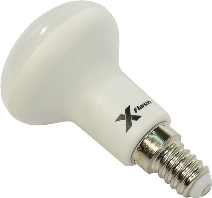Лампа светодиодная X-flash Xf-e14-r50-6w-4000k-230v светодиодная лампа x flash xf r50 e14 5w 3k 220v артикул 43385