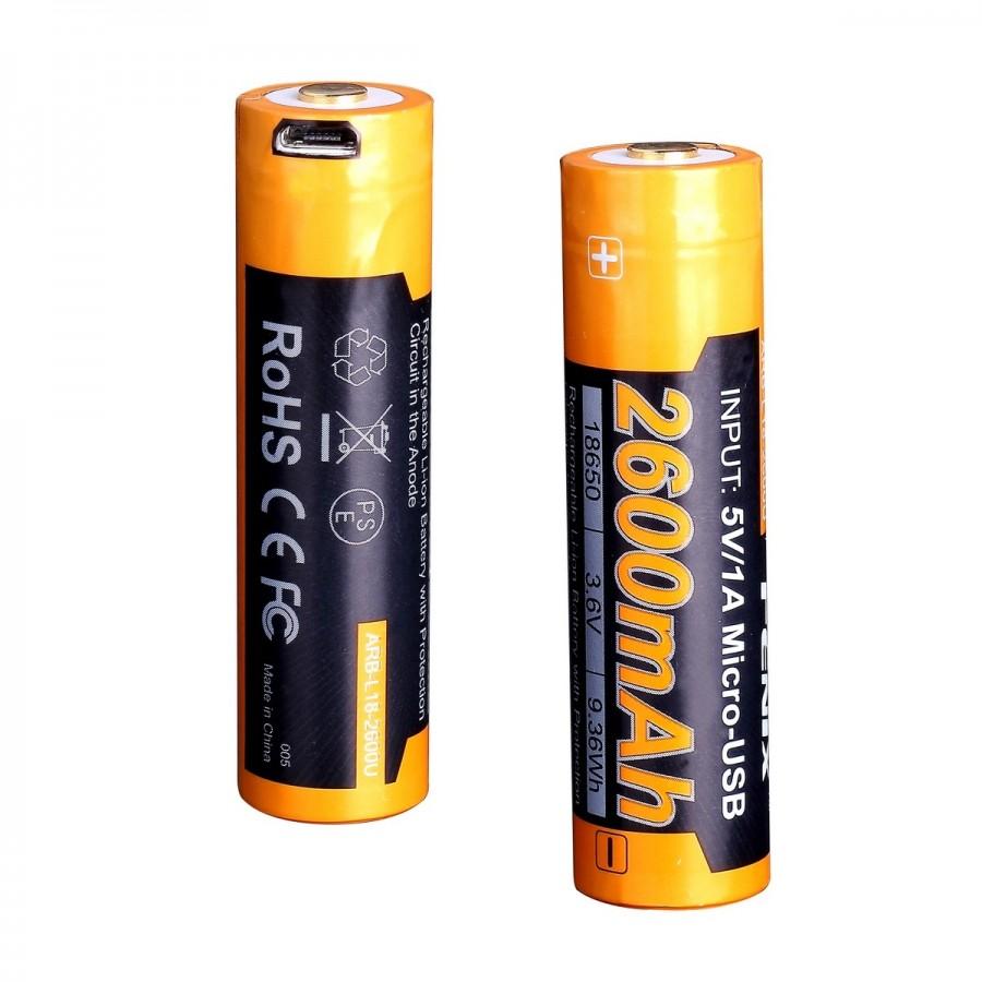 цена на Аккумулятор Fenix Arb-l18-2600u