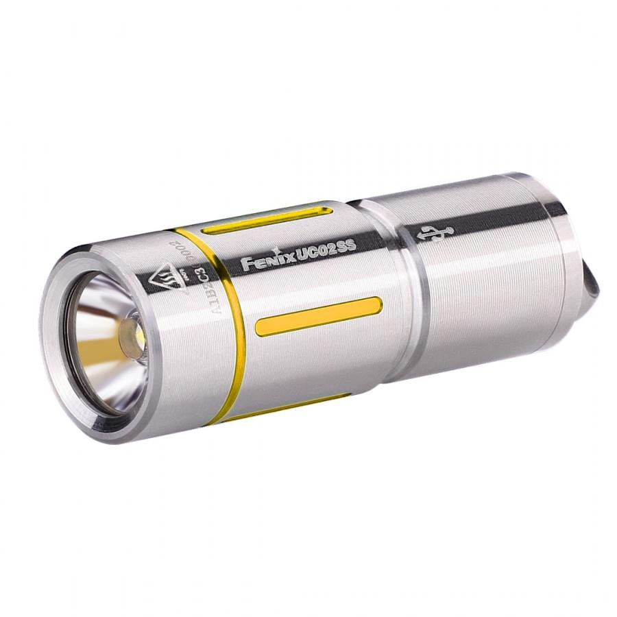 Фонарь Fenix Uc02ss золотой налобный фонарь fenix hp30r cree xm l2 xp g2 r5 черный