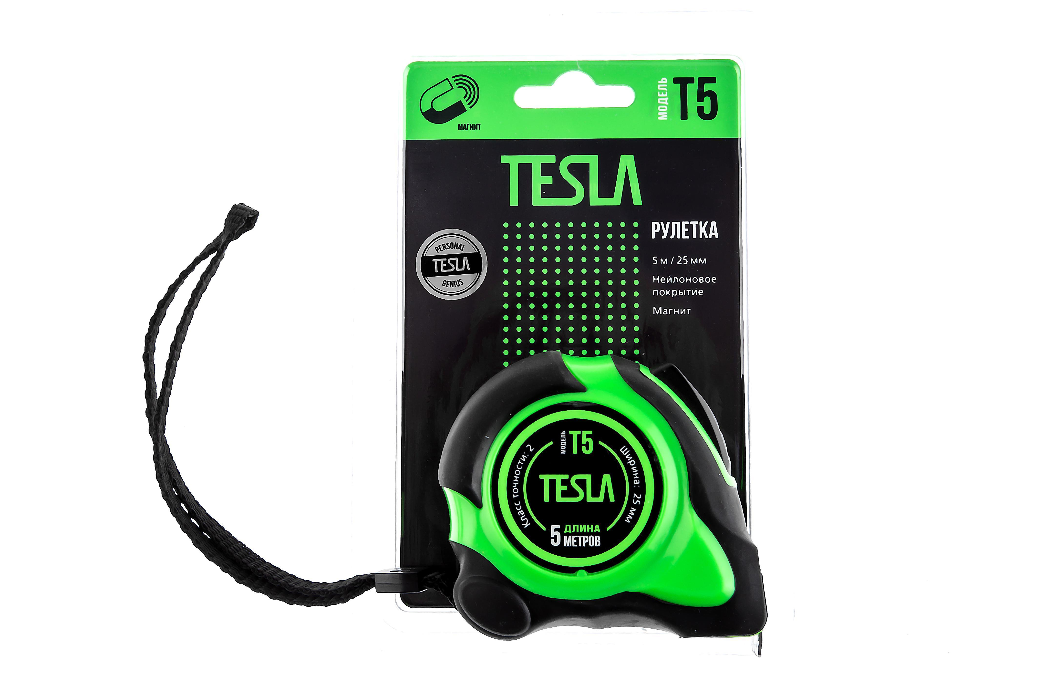 Рулетка Tesla T-5