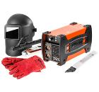 Набор WESTER инвертор сварочный WESTER Compact 120 + маска WH2 + электроды АНО-4 3мм 1кг + краги