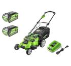 Аккумуляторная газонокосилка GREENWORKS G40LM49DBK4 (2500207VB) 1акк 40В 4Ач + ЗУ