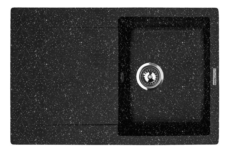 Мо��ка кухонная Lava L4.bas мойка кухонная lava l4 черный l4 bas