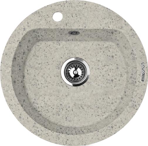 Мойка кухонная Lava R3.sca смеситель для мойки 201 высокий однорычажный серый polygran полигран