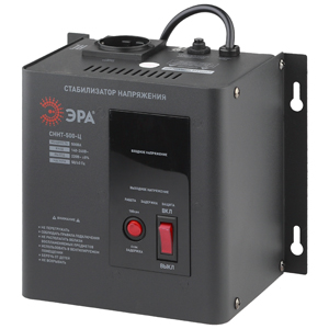 Стабилизатор напряжения ЭРА СННТ-500-Ц эра стабилизатор sta 1000