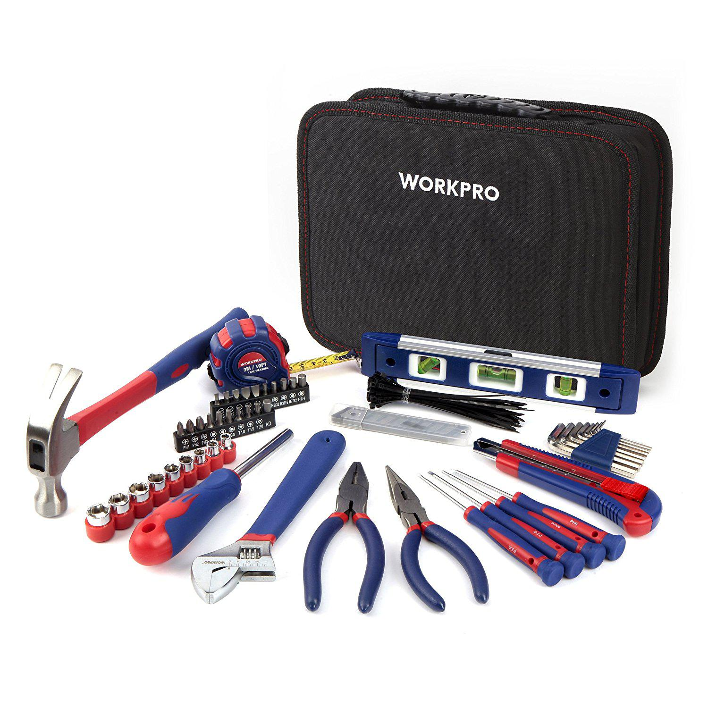 Набор инструментов Workpro W009021 ключ разводной truper pet