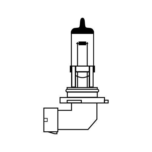 Лампа автомобильная Avs Vegas h27 881 12v 27w