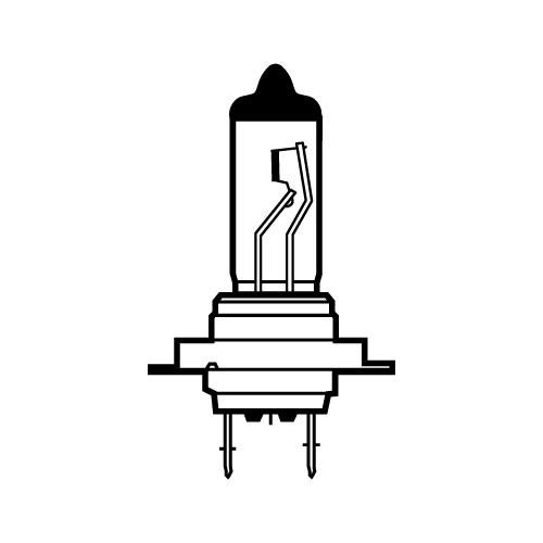 Лампа автомобильная Avs Vegas h7 24v 70w