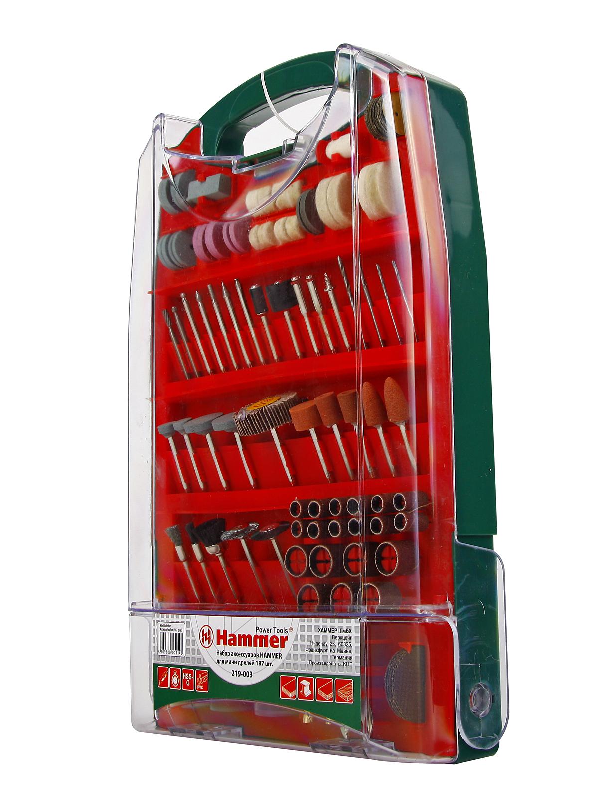 Набор насадок для дрели Hammer Md ac - 3 ac 3