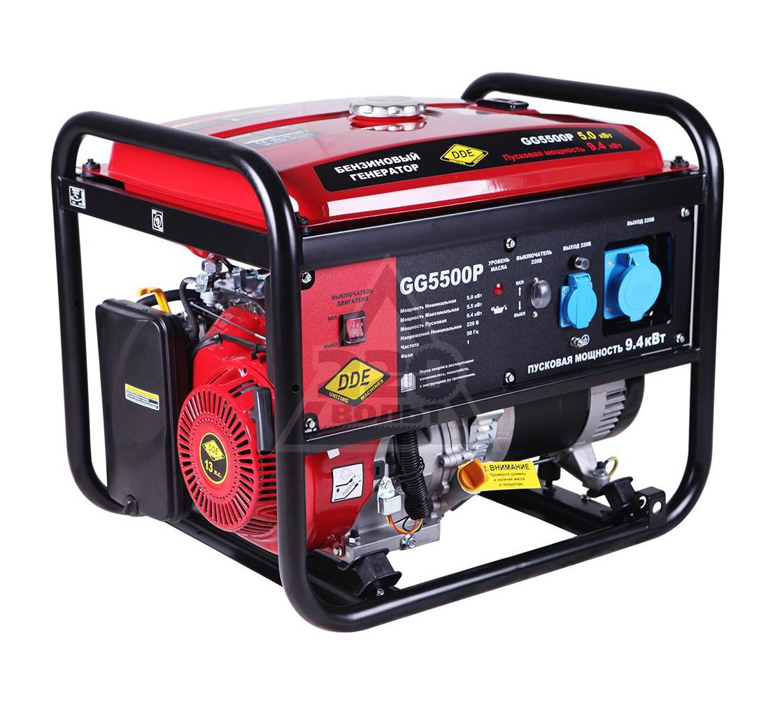 Бензиновый генератор DDE GG5500P