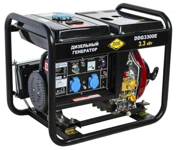Дизельный генератор Dde Ddg3300e электрический генератор и электростанция dde gg 3300 e