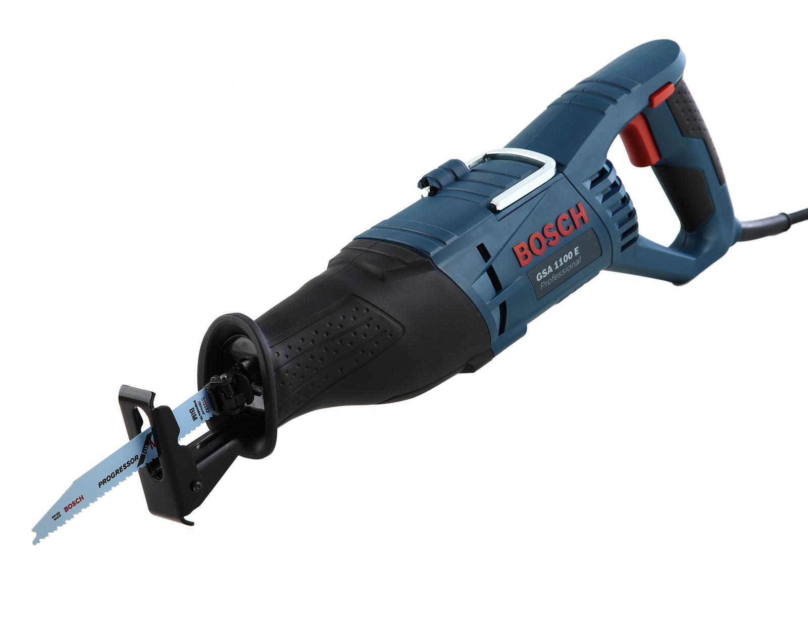 Сабельная пила Bosch Gsa 1100 e (0.601.64c.800) аккумуляторная сабельная ножовка bosch gsa 10 8v li 0 601 64l 902